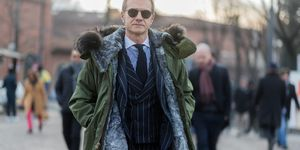 streetstyle pitti uomo 2019, hombre abrigo, ropa de abrigo, ropa de abrigo hombres