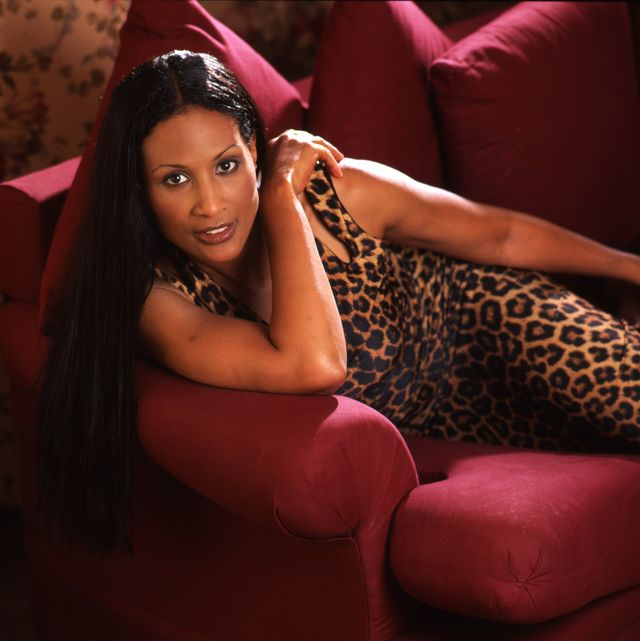 Beverly Johnson Portrait Session At Home