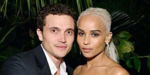 Zoë Kravitz and Karl Glusman at ELLE's Annual Women in Television Celebration 2017