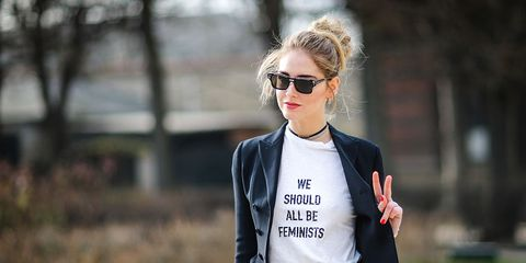 Clothing, Street fashion, White, Eyewear, Jacket, Fashion, Blazer, Outerwear, Sunglasses, T-shirt,