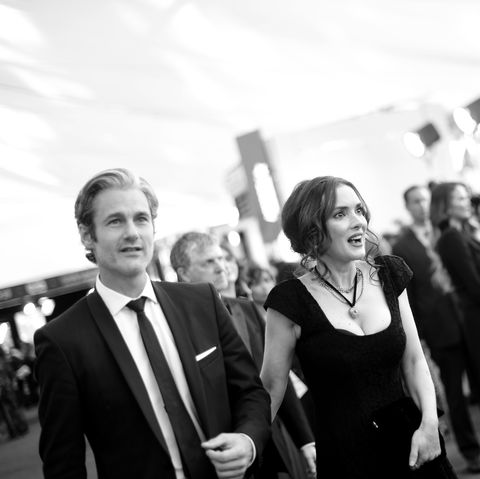 Winona Ryder and Scott Mackinlay Hahn Walk the Red Carpet