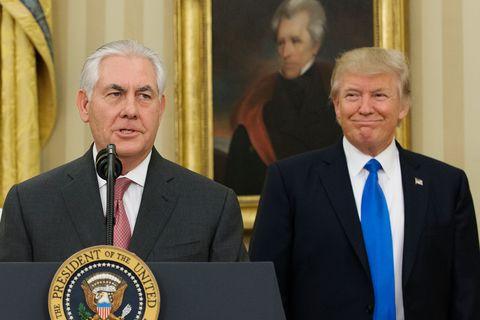 Rex Tillerson Sworn In as 69th U.S. Secretary of State