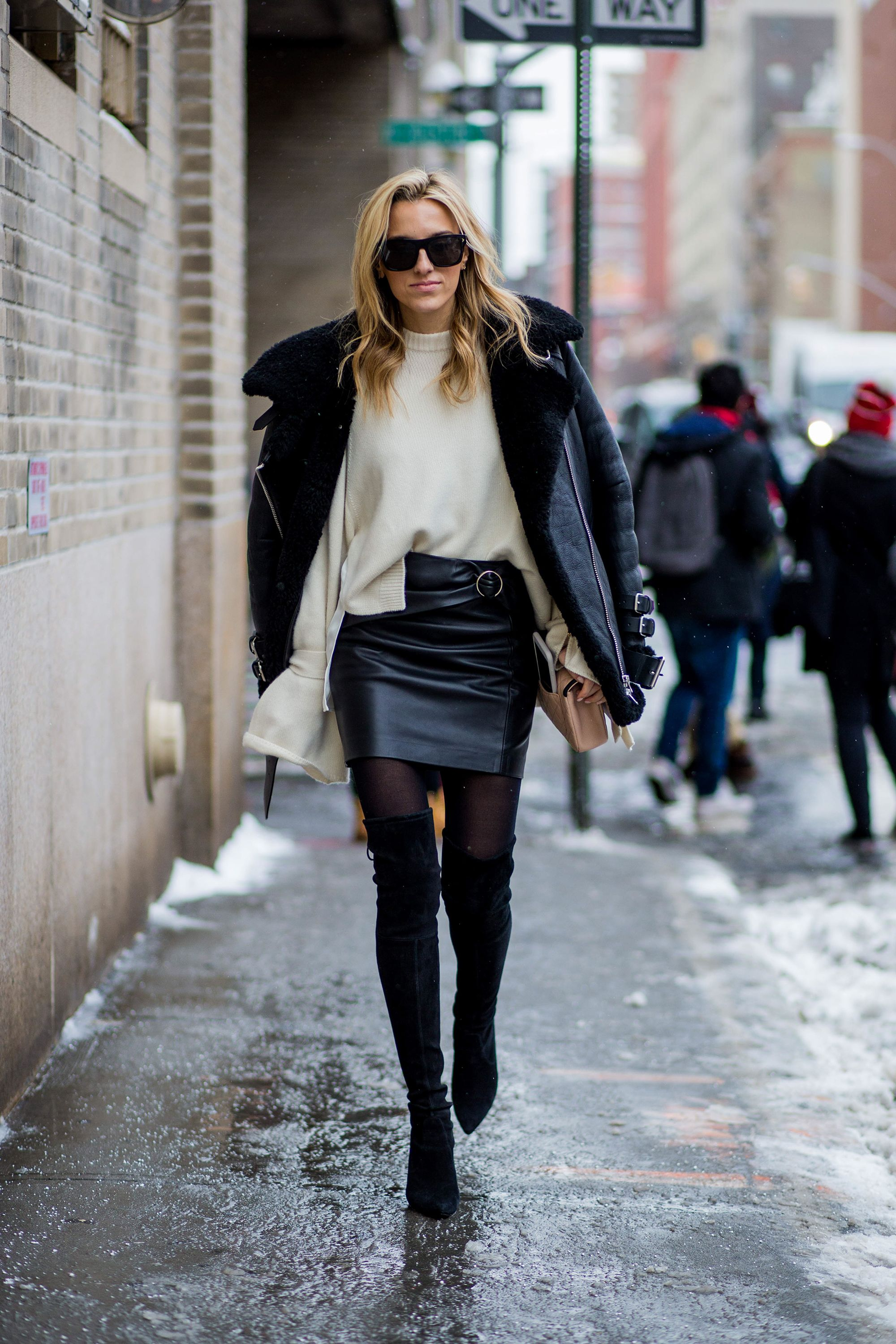Thigh high boots - how to wear them now