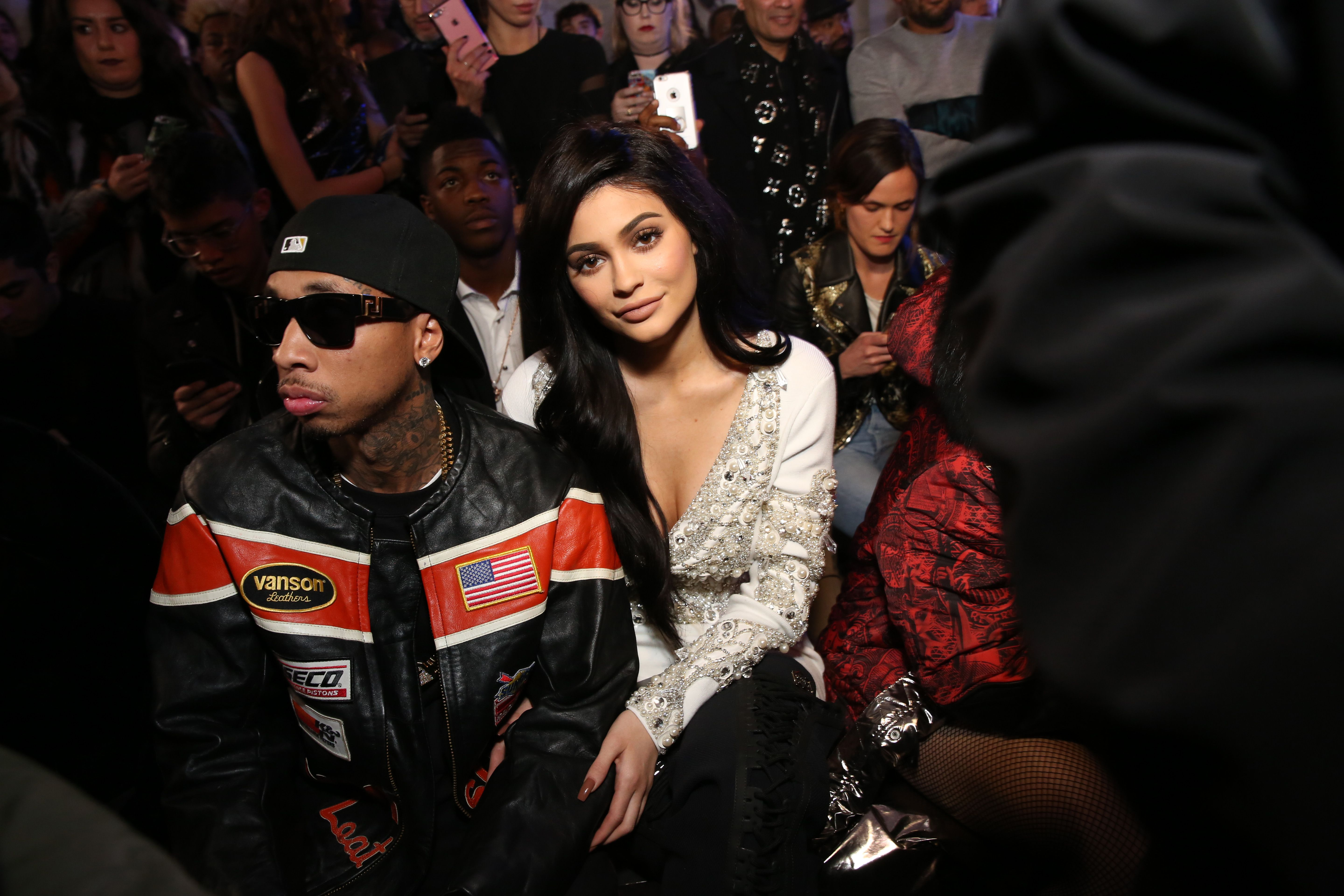 Kylie Jenner Makes Late Night Trip To Tyga's Recording Studio After Travis Scott Breakup