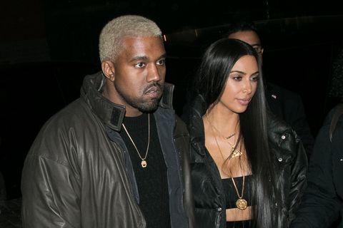 Kim kardashian west kanye west out