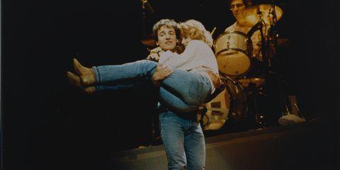 Bruce Springsteen e Julianne Phillips
