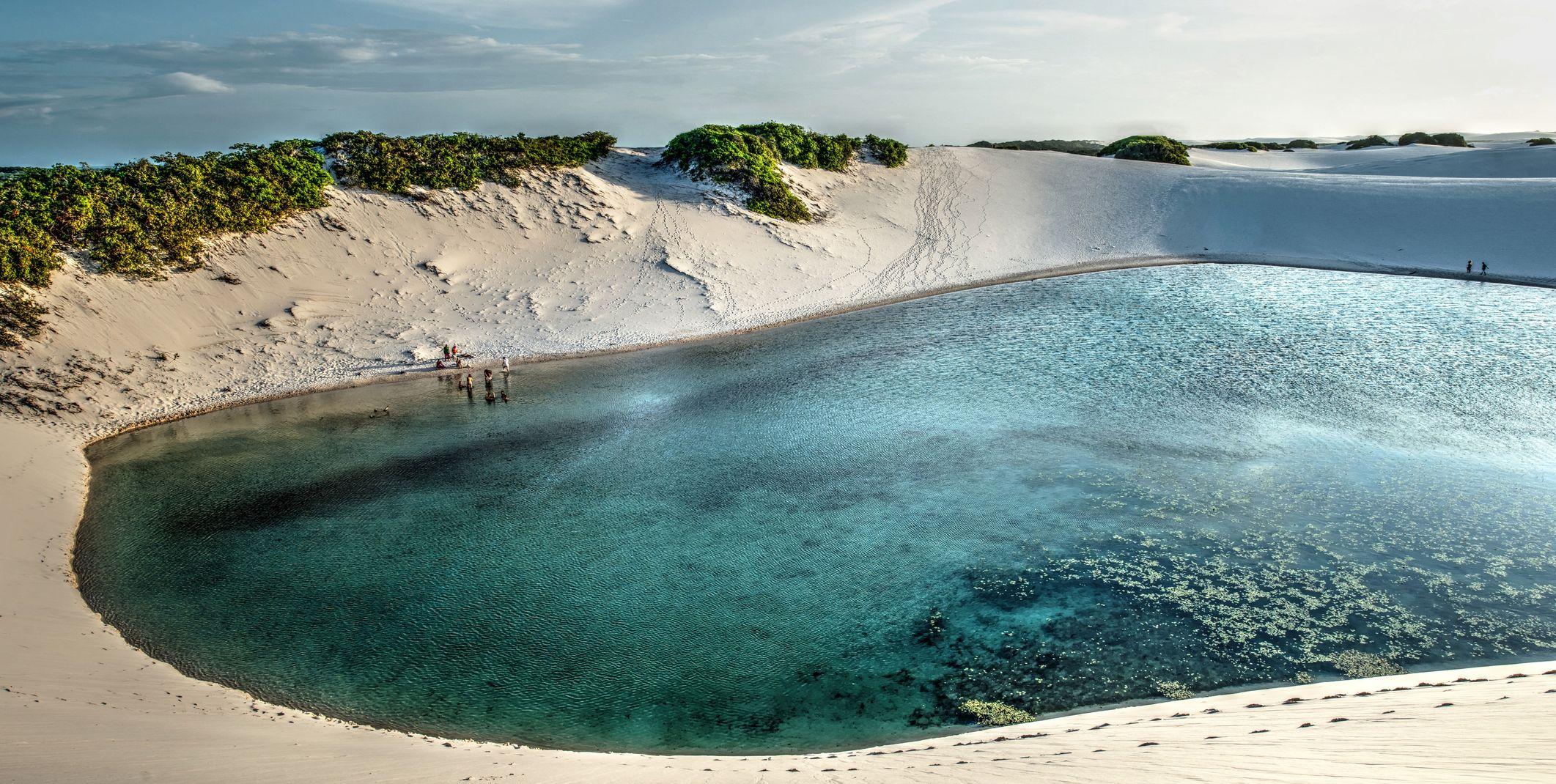 Lagoon in the dunes