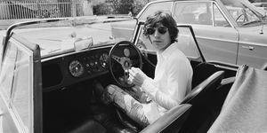 Mick Jagger In France