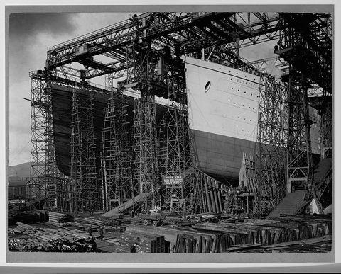 olympic titanic built
