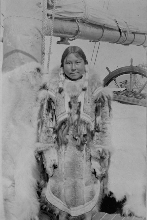 Eskimo Woman of Port Clarence