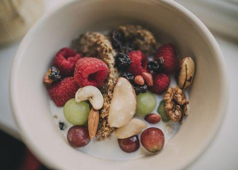 Bak met ontbijt