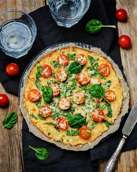 Dish, Food, Cuisine, Pizza, Ingredient, Flatbread, Tarte flambée, Pizza cheese, Italian food, California-style pizza,