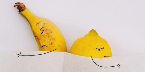 Banana family, Banana, Yellow, Plant, Fruit,