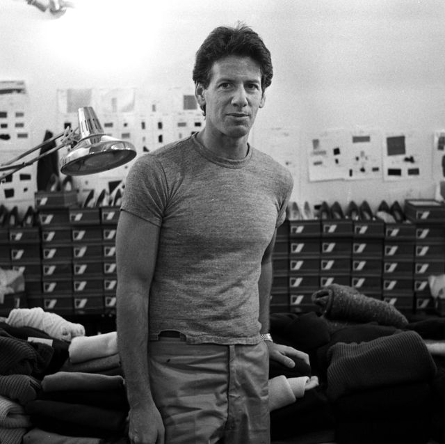 new york ny, march designer calvin klein in his 7th avenue studio during the roll out of fashion designers 1980 fall collection in new york ny, march, 1980 photo by john mcdonnell  the washington post via getty images