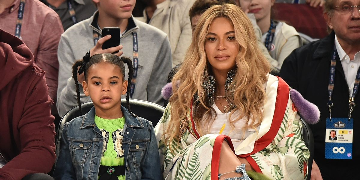 Blue Ivy Is Not Happy with Beyoncé's Attempt at a Corny Joke - HarpersBAZAAR.com