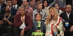 Jay-Z, Blue Ivy, Beyoncé