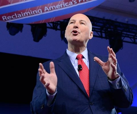 nebraska governor pete ricketts speaks to the conservative political action conference cpac at national harbor, maryland, february 24, 2017  afp  mike theiler        photo credit should read mike theilerafp via getty images