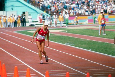 ロス五輪伝説の女子マラソン選手...