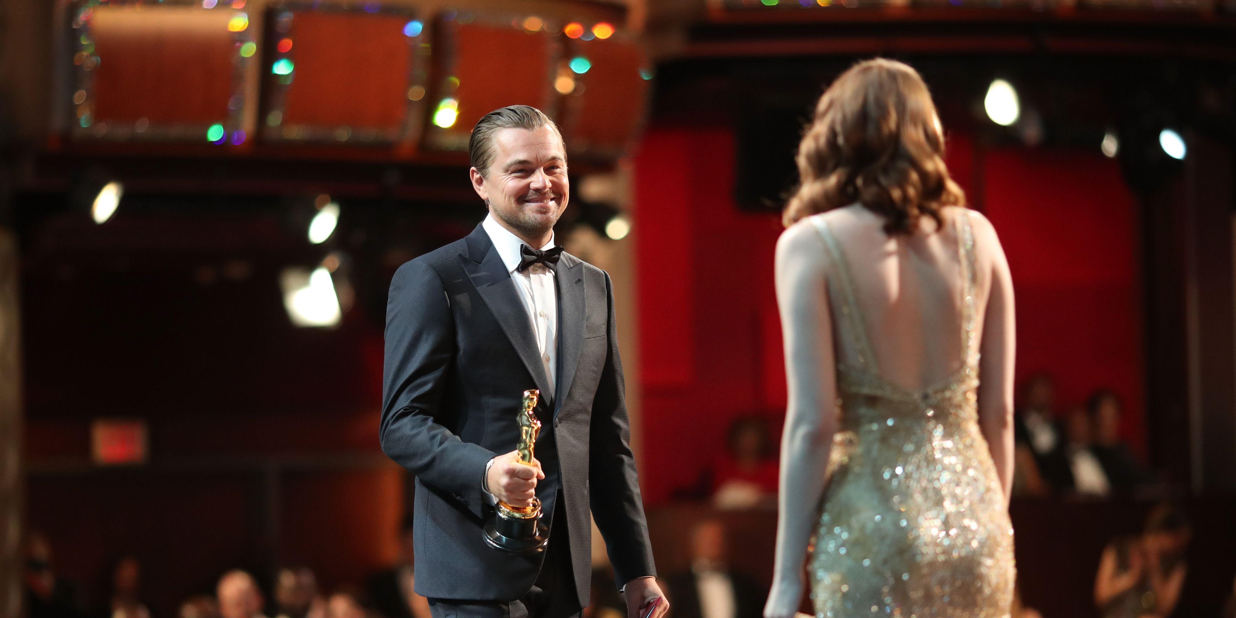Leonardo DiCaprio en Emma Stone - Oscars 2019