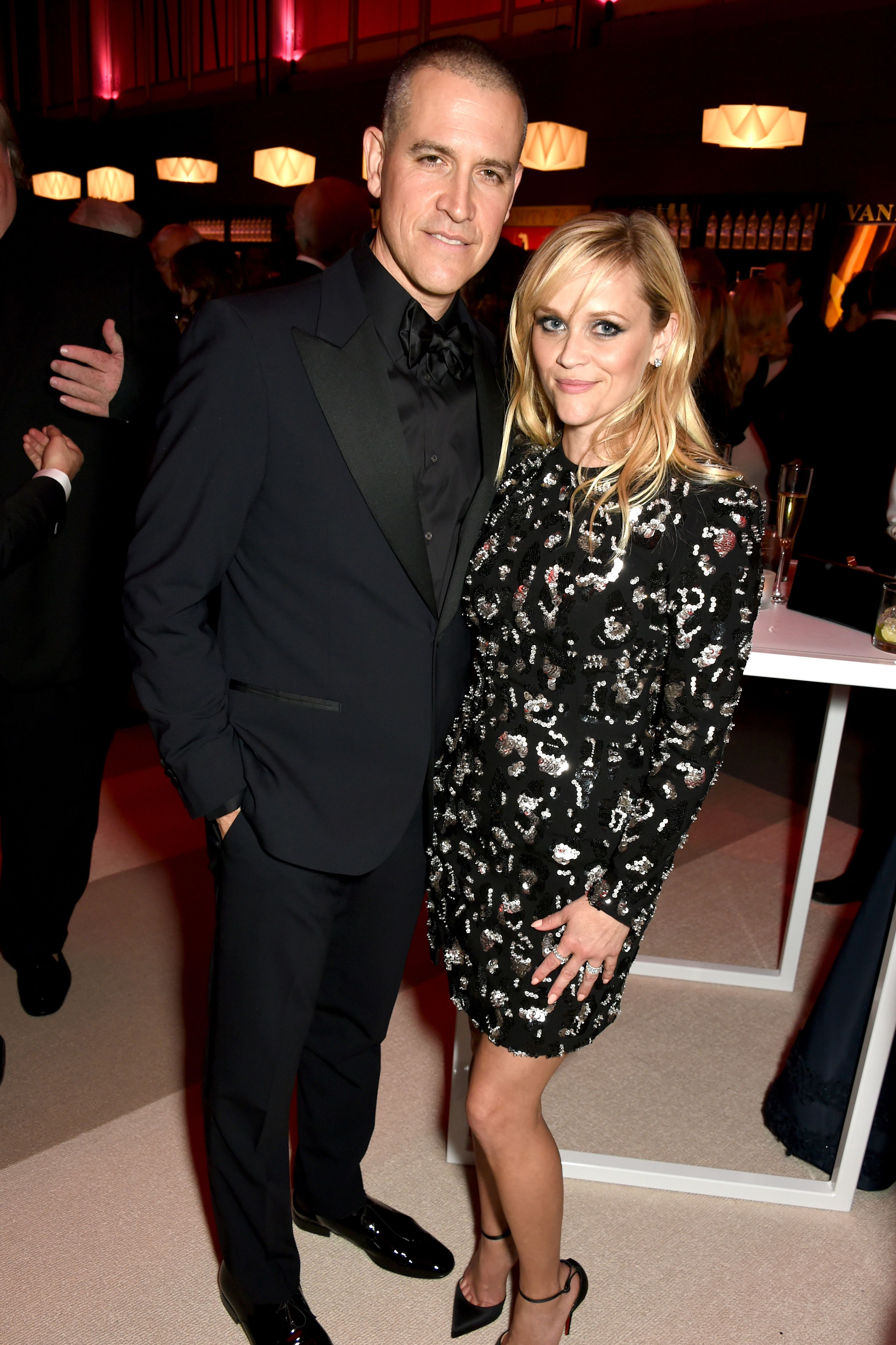 Reese Witherspoon and Jim Toth met when he rescued her from his drunk friend.