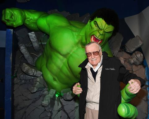 Stan Lee Marvel Hulk