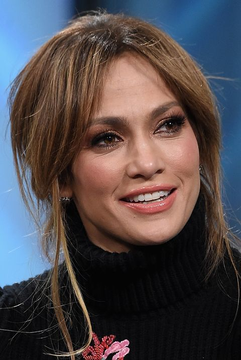 new york, ny march 02 jennifer lopez visits the build series presents jennifer lopez and ray liotta discussing shades of blue at build studio on march 2, 2017 in new york city photo by jamie mccarthygetty images