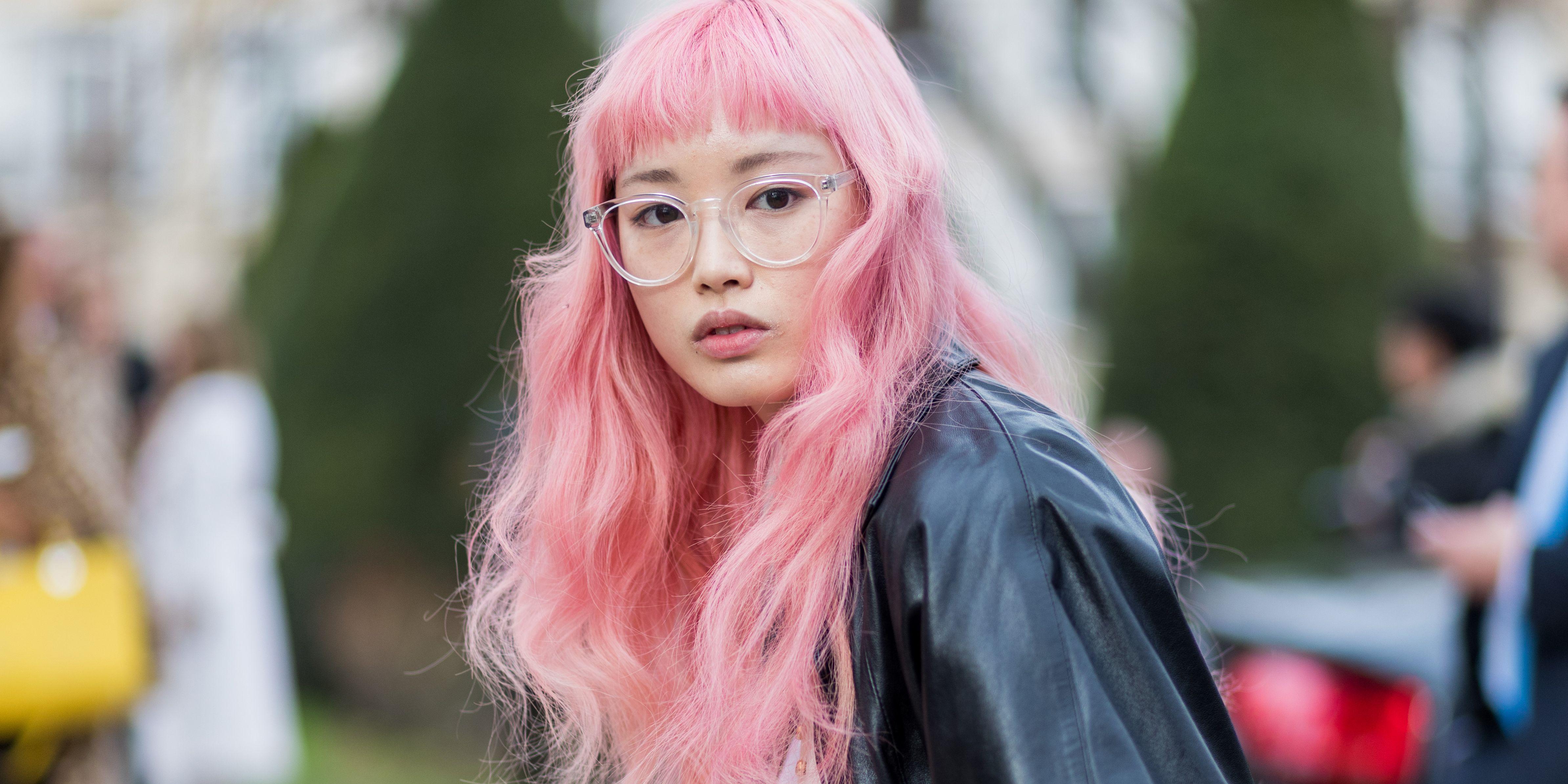 Fernanda Ly Pink Hair