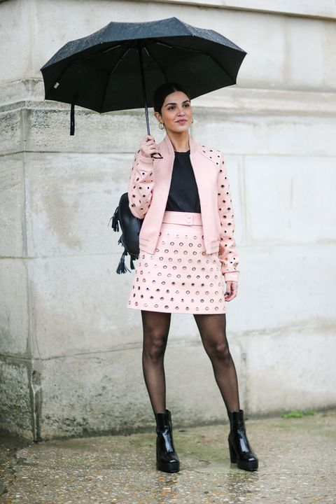 black tights street style outfits