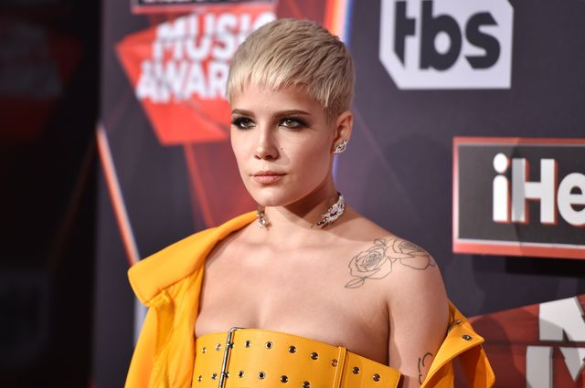 inglewood, ca   march 05  singer halsey attends the 2017 iheartradio music awards which broadcast live on turners tbs, tnt, and trutv at the forum on march 5, 2017 in inglewood, california  photo by alberto e rodriguezgetty images