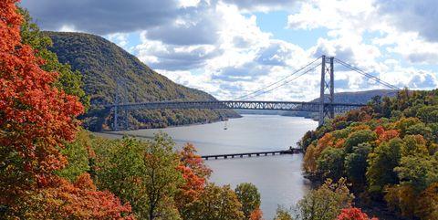 Bear Mountain Bridge Hudson Valley