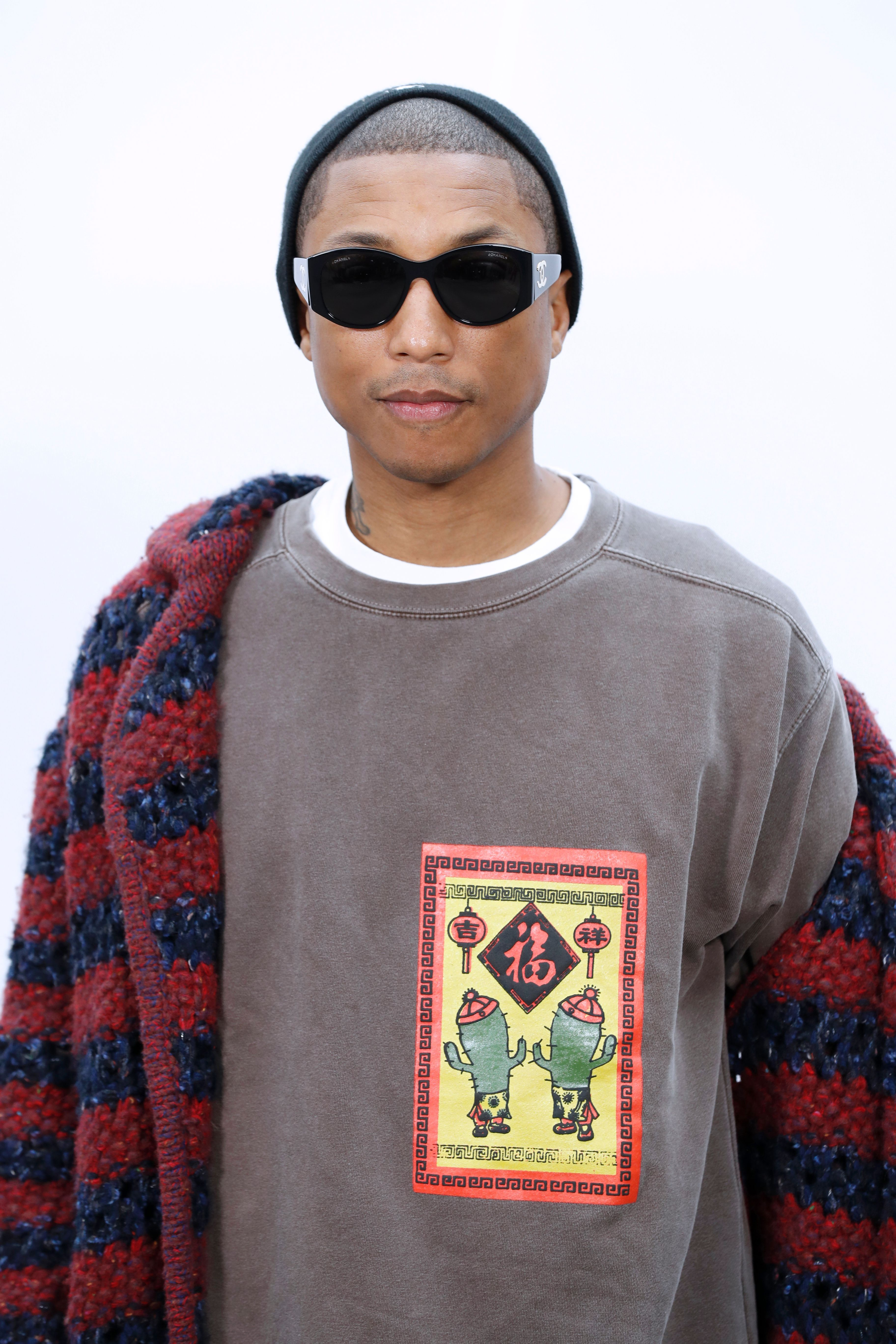 Pharrell Williams Explains Why He's 'Embarrassed' By 'Blurred Lines' Lyrics