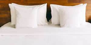 Why hotels always use white bedding