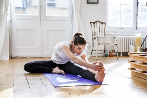 exercise and periods, women's health uk
