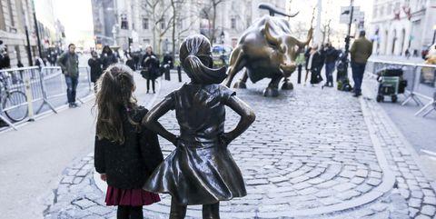 fearless girl wall street statue