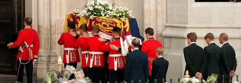 Princess Diana Funeral Photos 30 Unforgettable Moments At The