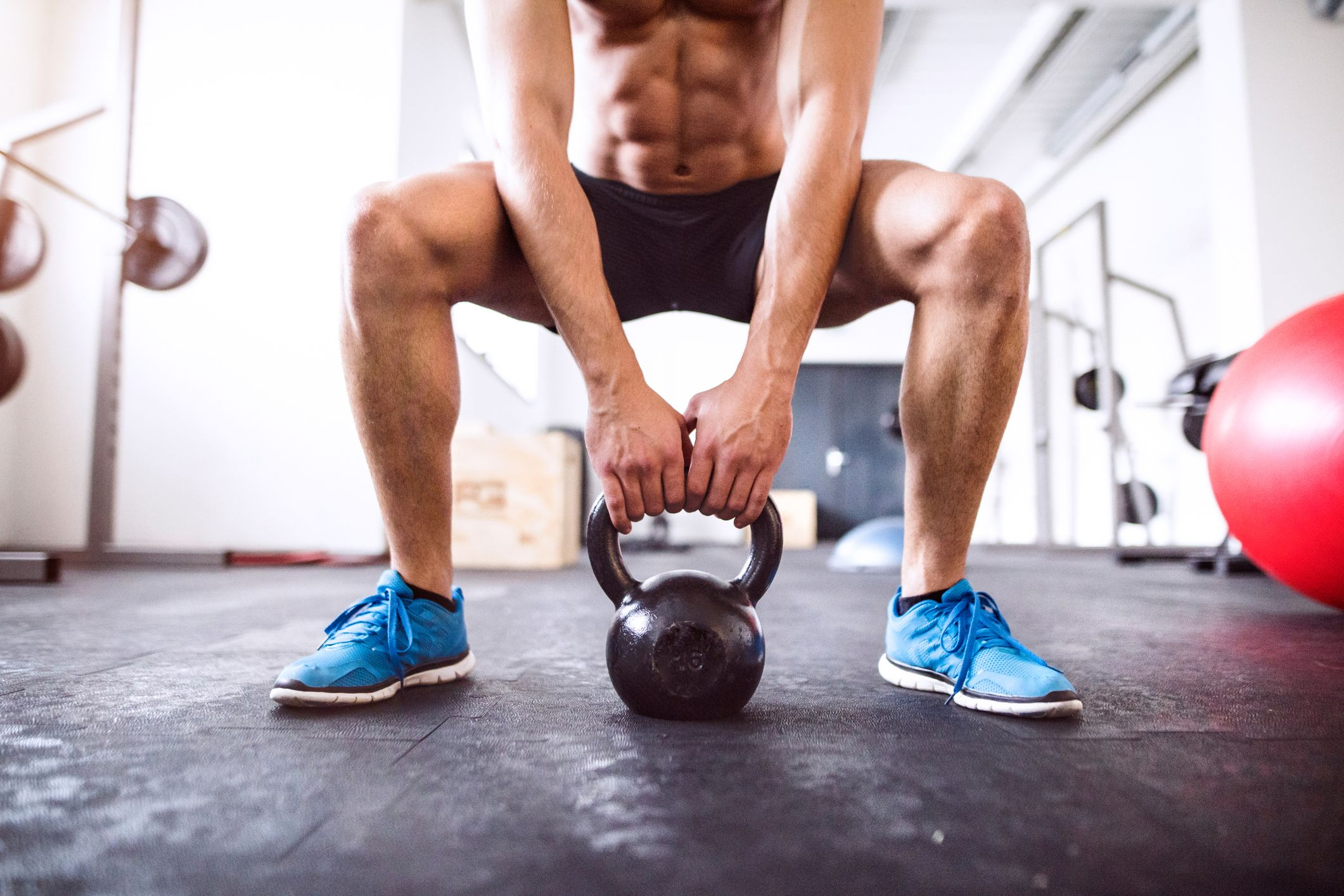 This Kettlebell Flow Is a Full-Body Blast