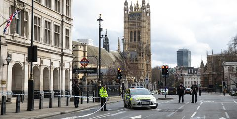 Houses of Parliament attack London