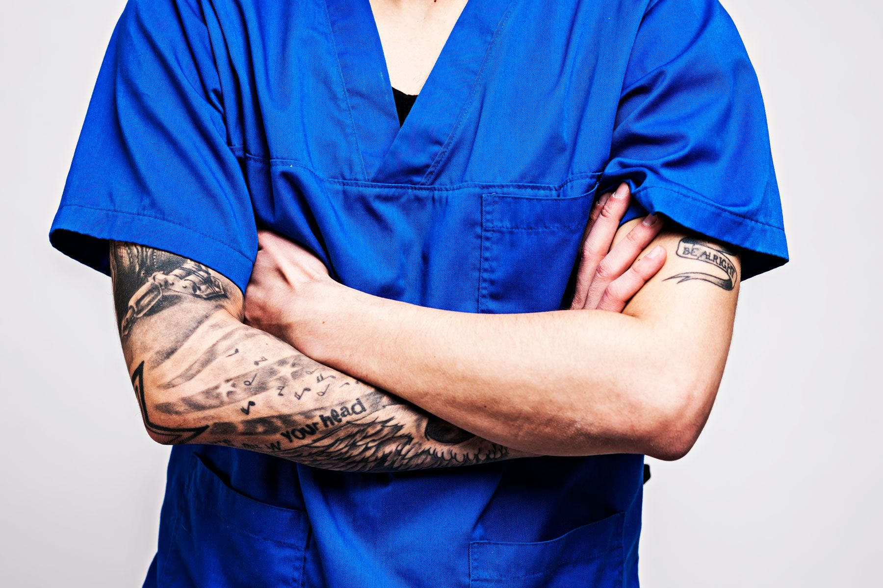 An Emergency Room Doctor On How His Tattoos Build Trust With Patients