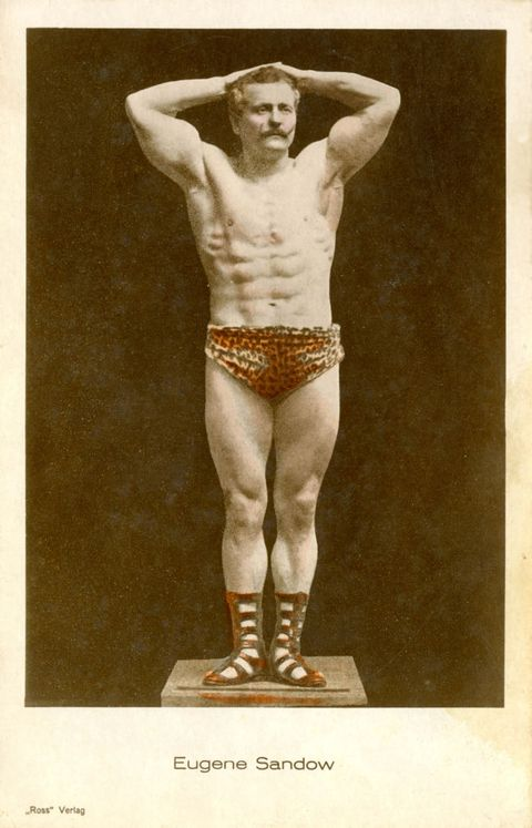 German bodybuilder Eugen Sandow