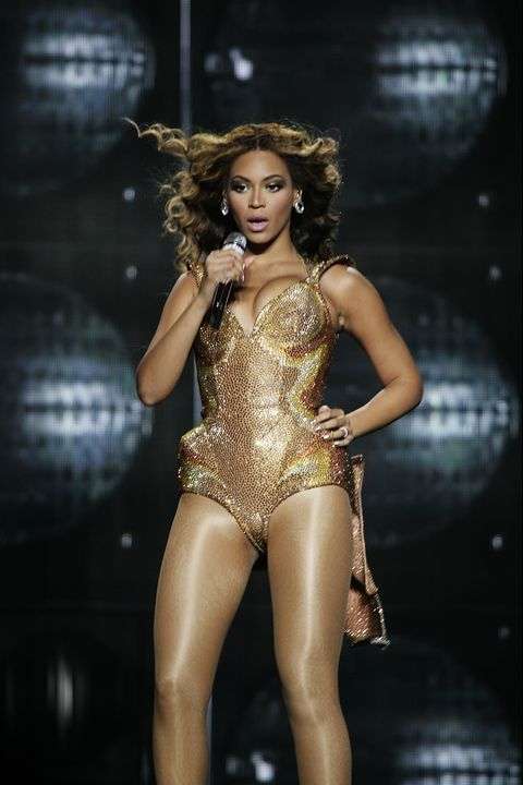 new york city, ny   june 22 beyonce wearing thierry mugler performs onstage during the beyonce i am world tour at madison square garden on june 22, 2009 in new york city photo by david x pruttingpatrick mcmullan via getty images