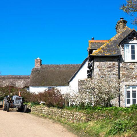 Quiet Cornish Village