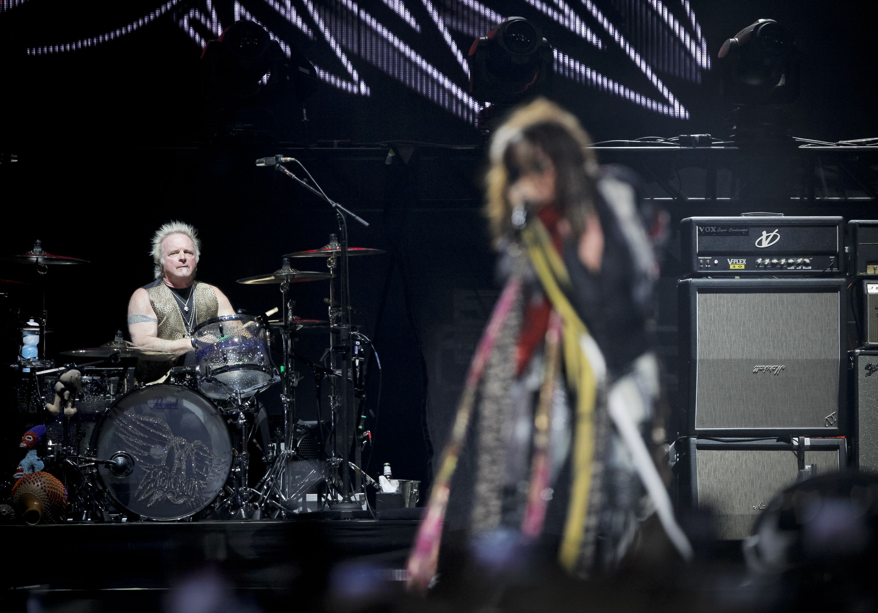 Joey Kramer Has Been Allowed Back in Aerosmith. But Maybe the Drummer Needs Some New Friends.