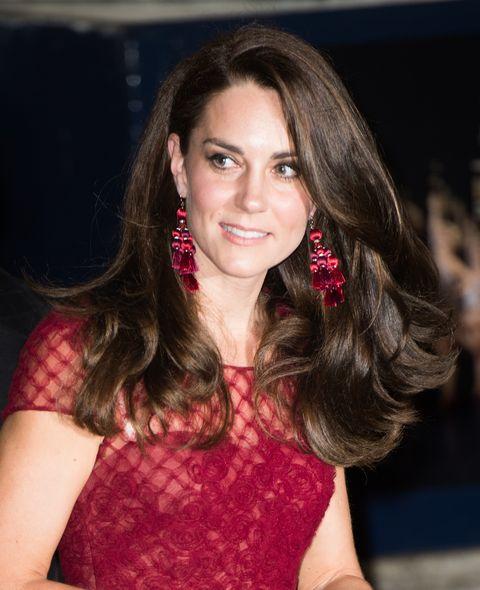 Duchess of Cambridge wearing Kate Spade earrings