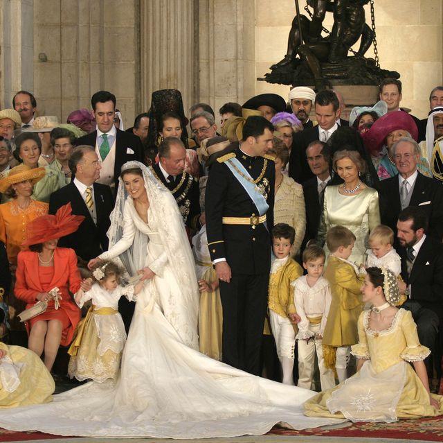 foto boda letizia y felipe
