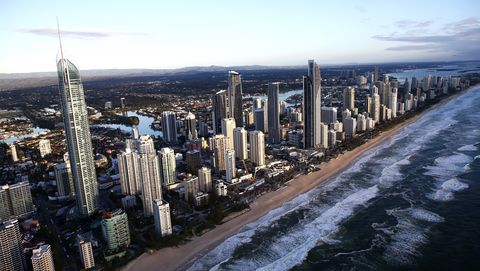 Surfers Paradise. Gold Coast, Australia.