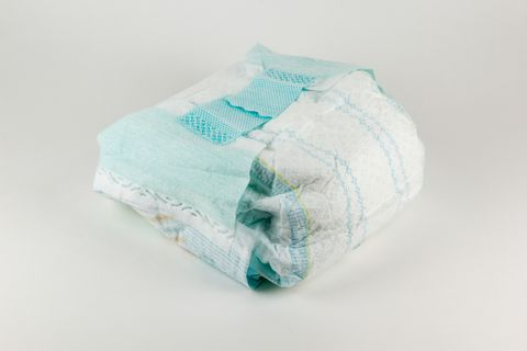 Turquoise, Diaper, Textile, Tissue paper, Paper,