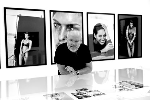 'Peter Lindbergh. From Fashion to Reality' Exhibition Pre-Opening In Munich