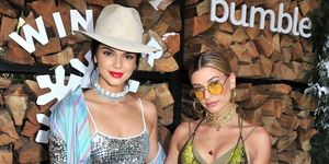 Hailey Baldwin and Kendall Jenner 'both gave Jordyn Woods a stare' at Coachella, apparently