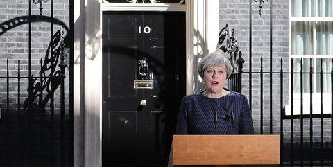 Theresa May, Downing Street
