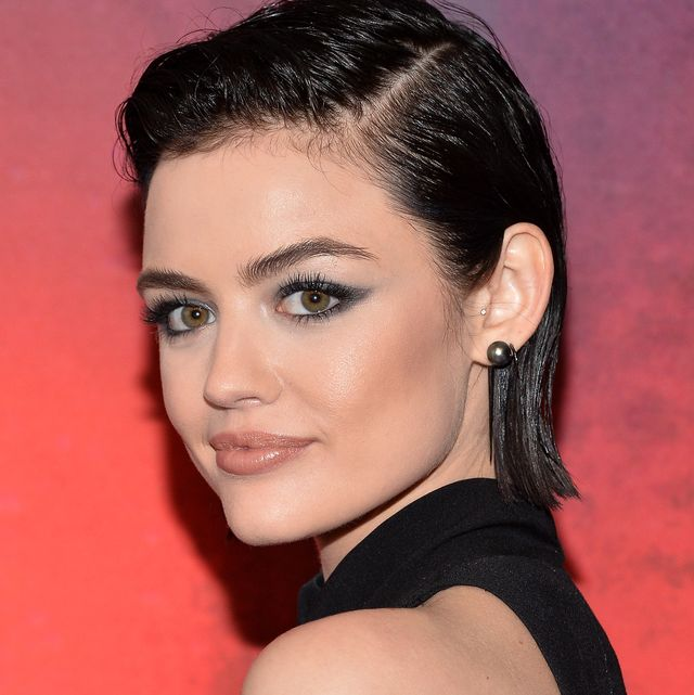 new york, ny   april 19  lucy hale attends the freeform 2017 upfront at hudson mercantile on april 19, 2017 in new york city  photo by d dipasupilfilmmagic